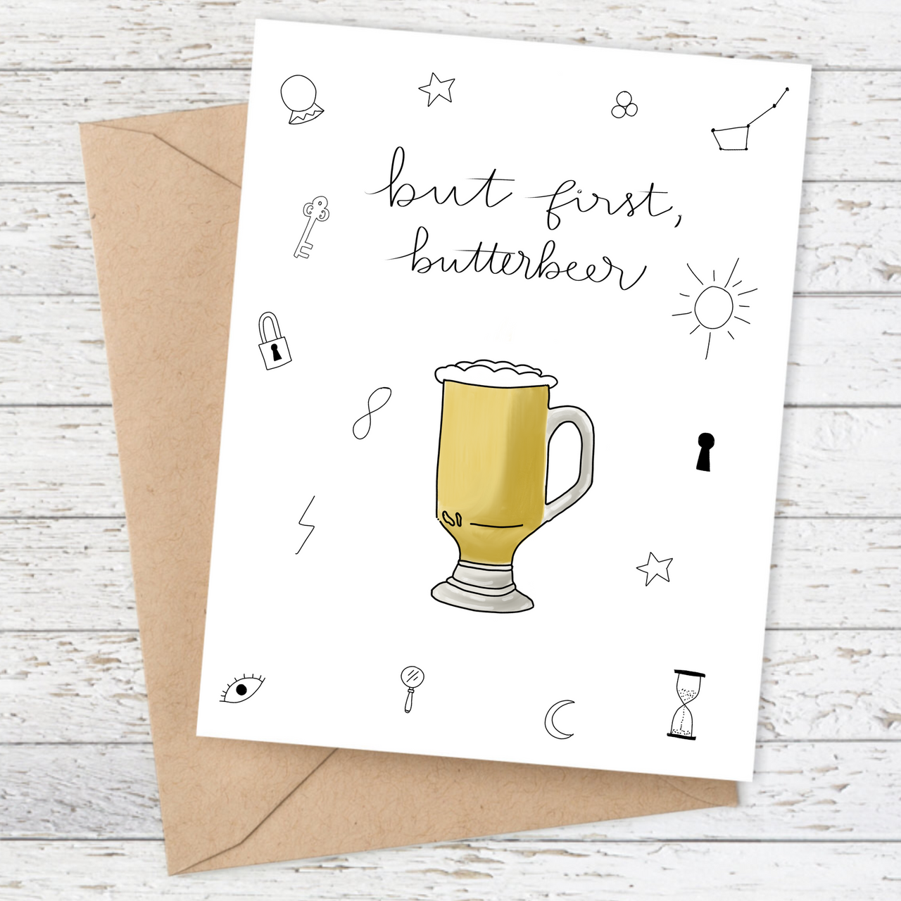 But first, Butterbeer Card