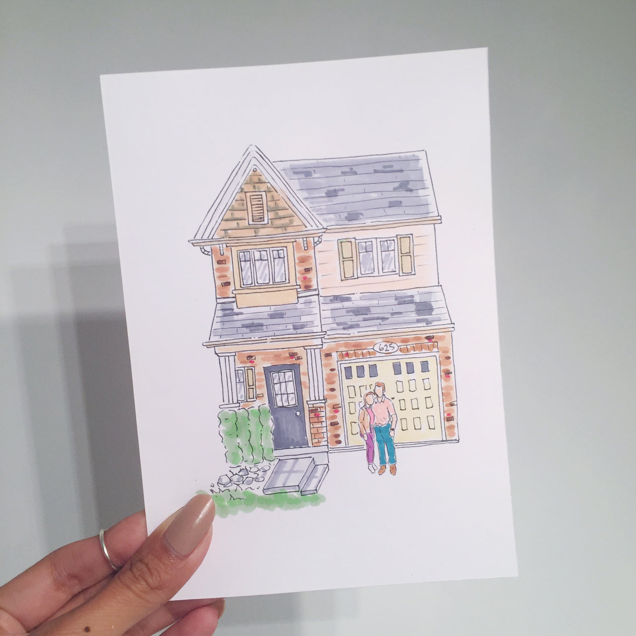 Custom House Warming Card