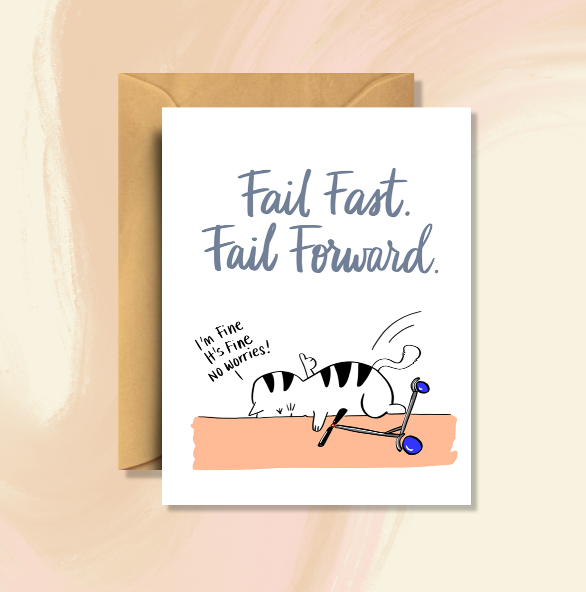Fail Fast. Fail Forward. Saasy Cat