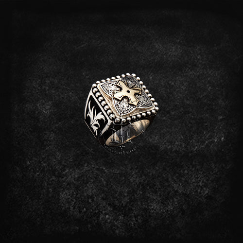 Men's Spadetop Ring