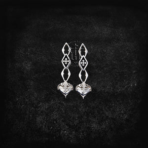 True Heart Drop Earrings