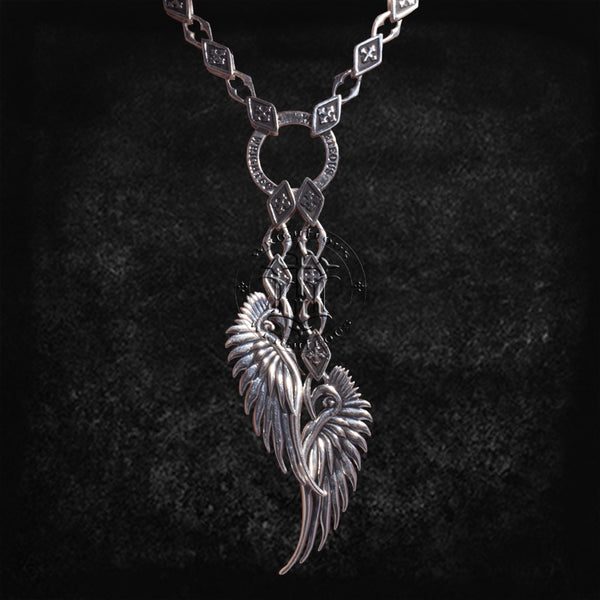 Saint Winged Necklace
