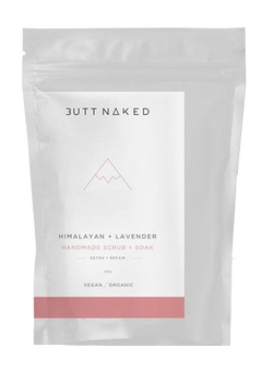 Butt Naked Himalayan and Lavender Handmade Body Scrub and Soak