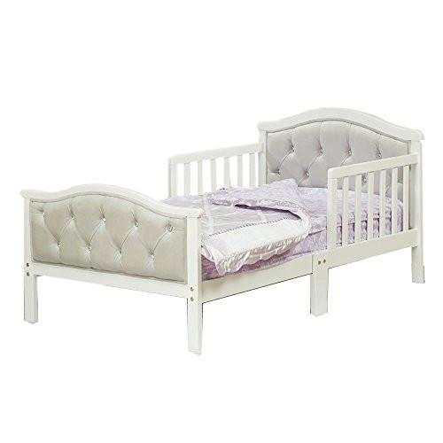 Orbelle Trading Padded Toddler Bed Gray
