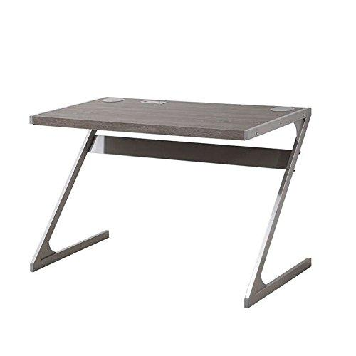 Bluetooth Desk with Built In Speakers Weathered Grey