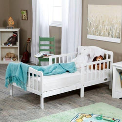 Contemporary Solid Wood Toddler Bed