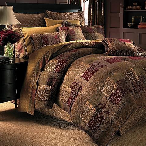 Croscill Galleria Comforter Set in Red