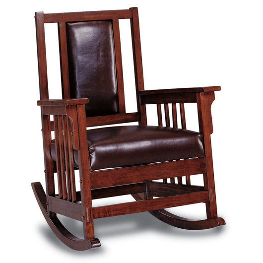 Lakewood Indoor Rocking Chair Bonded leather