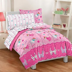 Princess Twin Mini Bed in a Bag Pink