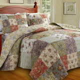 Greenland Home Blooming Prairie 3 Piece Bedspread Set