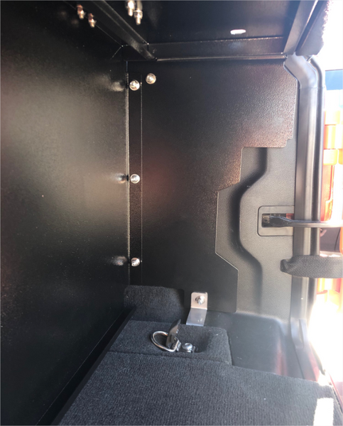 Locker Security Enclosure - JL (2 Door)