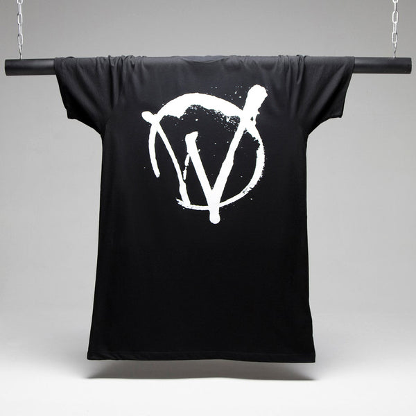 Warriors Longline T-shirt - Black