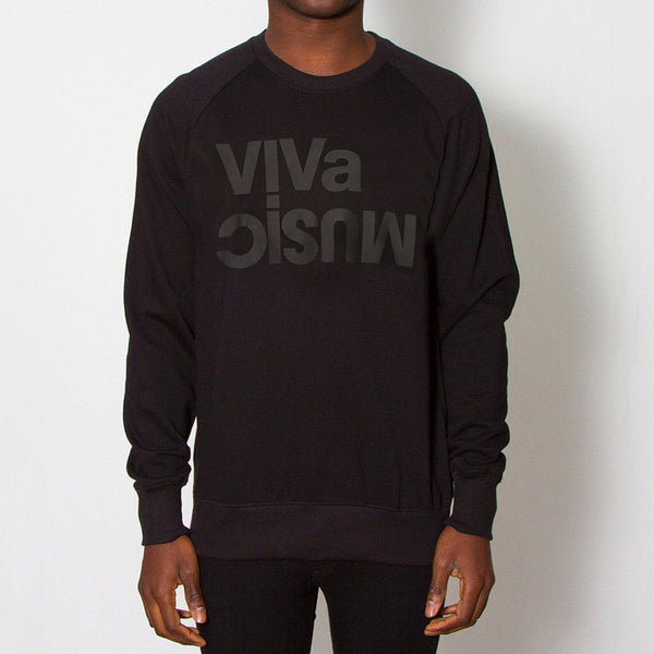 Viva Music Black On Black Sweatshirt