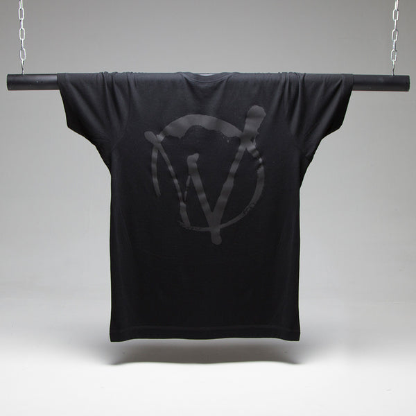 Warriors Black On Black T-shirt