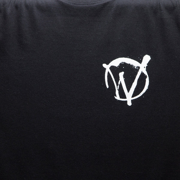 Warriors Crest T-shirt - Black