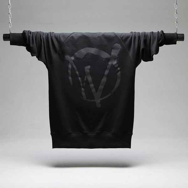 Warriors Black On Black Sweatshirt