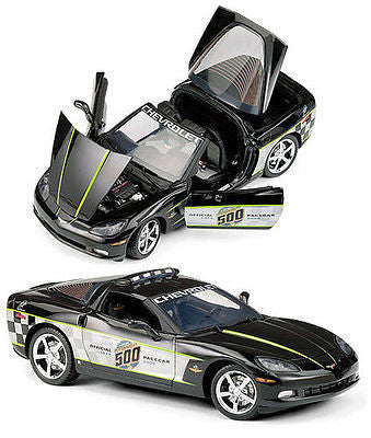Franklin Mint 2008 Chevrolet Corvette Ls3 Coupe Indy 500 Pace Car 1/24 B11f094