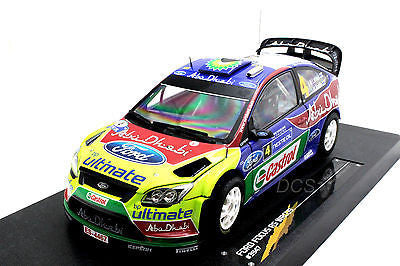 Sunstar Ford Focus Rs Wrc09 #3 Winner Rally Finland 2009 1/18 Ltd To 998pc 3945