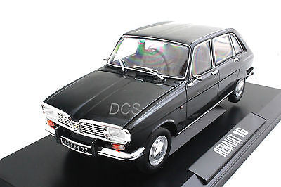 Norev 1967 Renault 16 Black 1/18 Diecast Car Model 185129