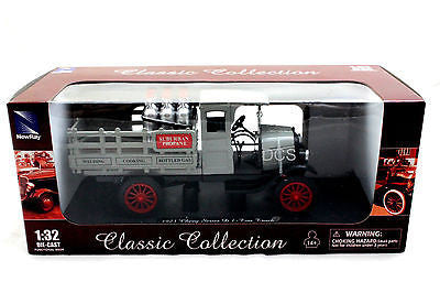 New Ray 1923 Chevy Pick Up Truck D 1-Ton Grey 1/32 New Diecast Car Ss-55023a
