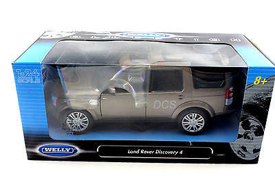 Welly Range Land Rover Discover 4 Metalic Brown New 1/24 Diecast Car