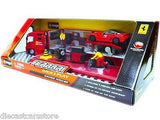 Ferrari Race And Play Racing Hauler Set 1/43 Diecast Model Car By Bburago 31202