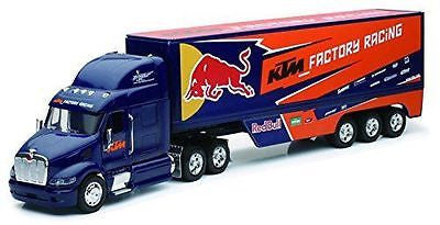 Peterbilt Ktm Factory Racing Team Truck RED Bull 1/32 Model By New Ray 10693
