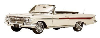 Sunstar 1961 Chevrolet Chevy Impala Convertible White 1/18 Diecast Ss3405