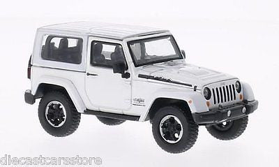 Jeep Wrangler Polar Limited Edition White In Case 1/43 Greenlight