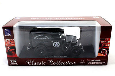 New Ray 1931 Ford Panel U.S Marshall Black 1/32 New Diecast Car Ss-55123a