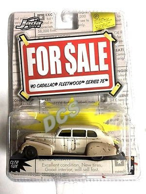 Jada 1940 Cadillac Fleetwood Series 75 1/64 Diecast Car