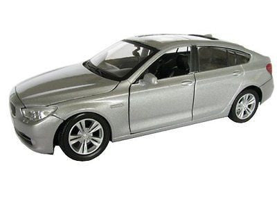 Motormax Bmw 5 Series Gt Siver 1/24 Diecast New In Box #73352