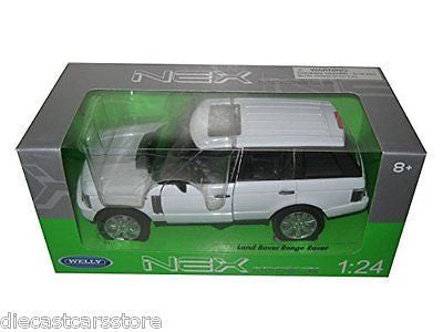 Welly 2003 Land Rover Range Rover White 1/24 Diecast Car 22415w
