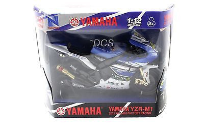 New Ray Valentino Rossi Yamaha Yzr-M1 2013 Bike Motor Gp 1/12 Motorcycles 57583