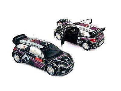 Norev Citroen Ds3 #17 Wrc Rally Portugal 2012 1/18 Diecast Car181559