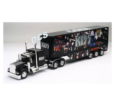New Ray Kenworth W900 Kiss Semi Trailer Truck 1/32 Diecast Car Toys Ss-12453
