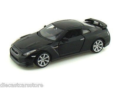 Maisto 2009 Nissan Gt-R Black 1/24 New In Box Diecast Car 31294bk