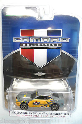 Greenlight 2009 Chevrolet Camaro Ss Daytona 500 Pace Car 1/64 Diecast Car