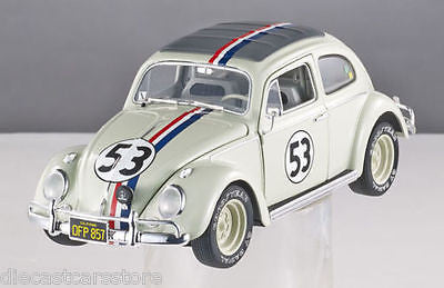 Hot Wheels Elite Cult Herbie THE Love Bug #53 Goes To Monte Carlo 1/18 Bcy22