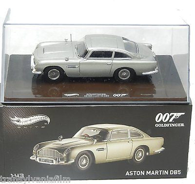 Aston Martin Db5 Elite James Bond GOLDFINGER Movie 1964 1/43 Hotwheels Bly26