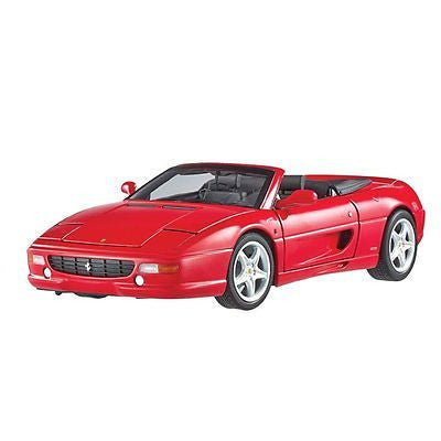 Hot Wheels Elite Ferrari F355 Spider Convertible Red 1/18 Diecast Model Bly34