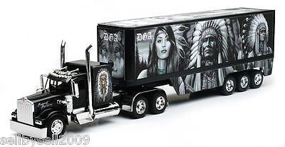 New Ray Kenworth W900 David Gonzales Native Truck 1/32 Diecast New Ss-11423