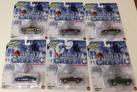 Johnny Lightning 2016 Holiday Classic Ornaments Chevy, Mercury 1/64 Car Jlhc001