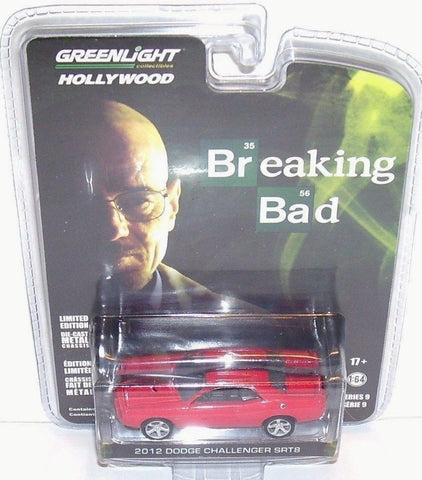 2012 Dodge Challenger Srt-8 BREAKING Bad Hollywood 9 1/64 Greenlight 44690 A