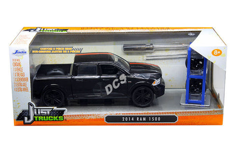 Jada Just Trucks 2014 Dodge Ram 1500 With Extra Wheels 1/24 Diecast Car 98022