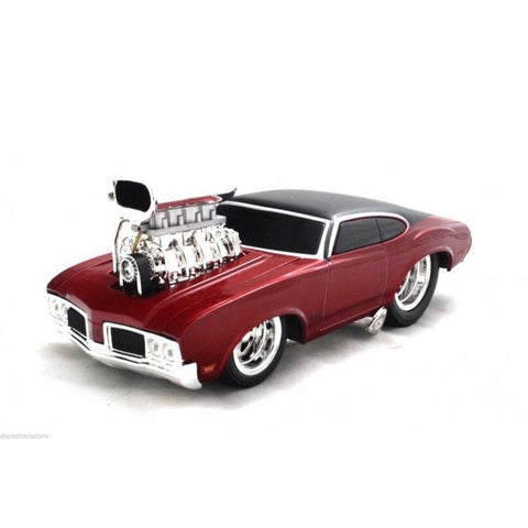 Maisto Muscle Machines 1970 Oldsmobile 442 Red 1/24 New Without Box