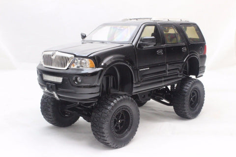 Jada High Profile Lincoln Navigator Black 1/24 Diecast Cars New Without Box