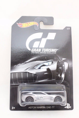 Hot Wheels Gran Turismo Aston Martin One-77 Djl12-999a
