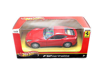 Hot Wheels Ferrari F12 Berlinette Red 1/43 Diecast Car Bcj79
