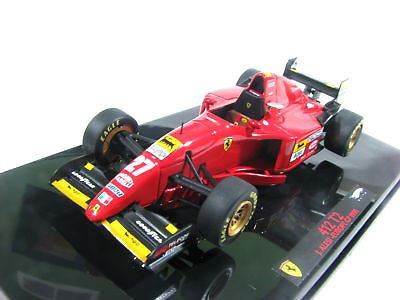 Hot Wheels Elite Ferrari 412 T2 J.Alesi #27 Europe 1/43